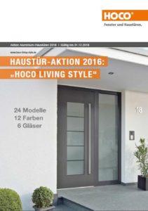 Hoco Haustüren Aktion 2016